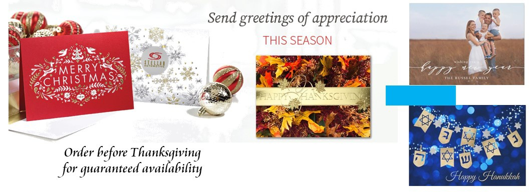 Christmas Cards, Thanksgiving Cards, Photo Christmas Cards, Hanukkah Cards,