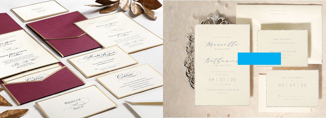 Wedding Invitations, Wedding Suites, Save the dates